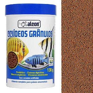 Ração Peixes Ornamentais Alcon Ciclídeos Grânulos 130g