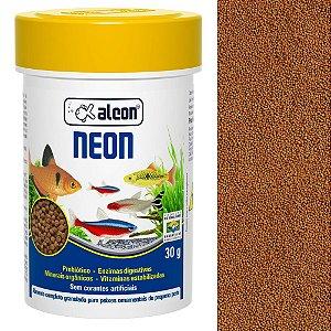 Ração Alcon Neon Peixes Ornamentais de Pequeno Porte 30g