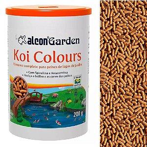 Ração Peixes Ornamentais Alcon Garden Koi Colours 200g