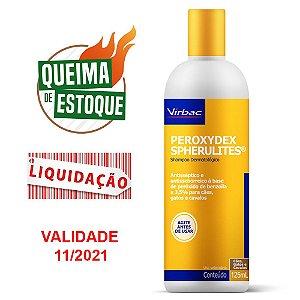 Shampoo Peroxydex Spherulites 125ml - Virbac (VAL: 11/21)