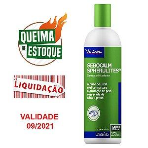 Shampoo Sebocalm Spherulites 250 Ml - Virbac (VAL: 09/21)