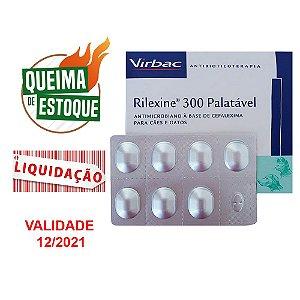 Rilexine 300mg Virbac 7cps - Cartela Avulsa (VAL: 12/21)