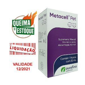 Metacell Pet 50ml - Ourofino (VAL: 12/21)