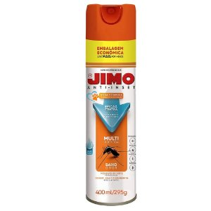 Jimo Anti-Inset 400ml Base Aguá Embalagem Econômica