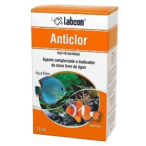 Alcon Labcon Anticlor 15ml Remove Cloro da Água