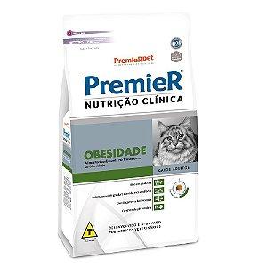 Ração Terapêutica Super Premium Premier Nutrição Clínica Gatos Adultos Obesidade 500g - PremierPet