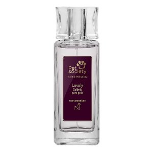 Colônia Pet Society Lovely Super Premium 50ml