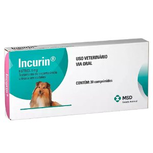 Incurin 1mg 30 Comprimidos - MSD