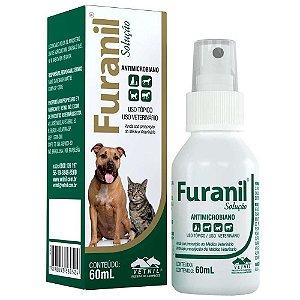 Solução Antimicrobiana Furanil Spray 60ml - Vetnil