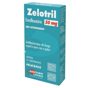 Zelotril 50mg Agener - 12 comprimidos
