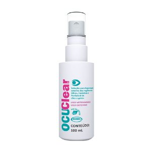 Higienizador Facial Ocuclear 100ml - Ecovet