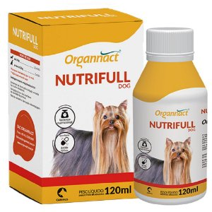 Suplemento Vitamínico Organnact Nutrifull Dog 120ml