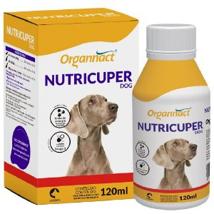 Suplemento Vitamínico Organnact Nutricuper Dog 120ml
