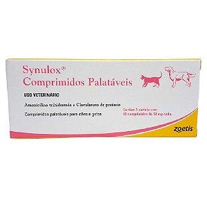 Antibiótico Synulox 50mg 10 Comprimidos - Zoetis