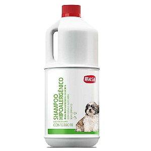 Shampoo Ibasa Hipoalergênico 1L Peles Sensíveis e Filhotes