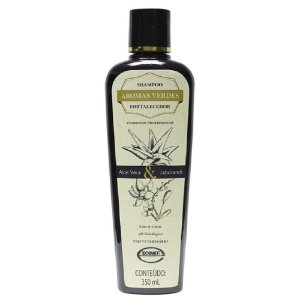 Shampoo Aromas Verdes Fortalecedor Jaborandi 350ml - Ecovet