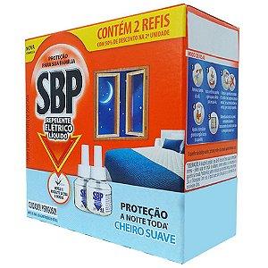 Repelente Elétrico Líquido SBP 45 Noites Refil 2un Suave