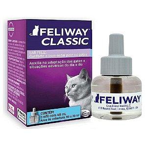 Auxíliador Comportamental Feliway Classic Refil 48ml - Ceva