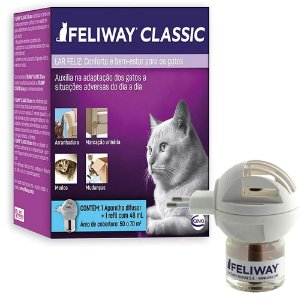 Feliway Classic Difusor com Refil 48ml - Ceva