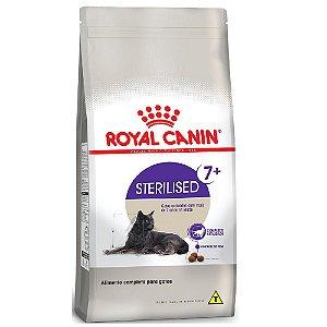 Ração Royal Canin Gatos Sterilised 7+ acima de 7 anos 7,5kg