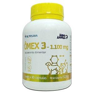 Omex 3 Nutrisana 30 Caps 52,8g - Mundo Animal