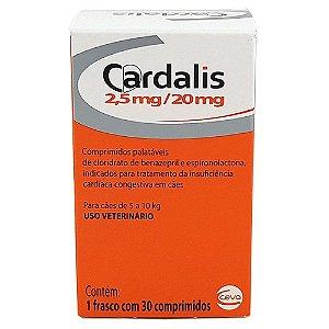 Cardalis 2,5mg/20mg 30 Comprimidos Palatáveis- Ceva