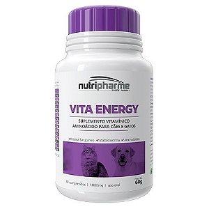 Suplemento Vitamínico Vita Energy 60 Comprimidos Nutripharme