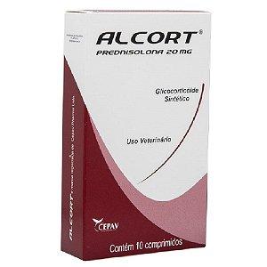 Alcort 20mg 10 Comprimidos - Cepav