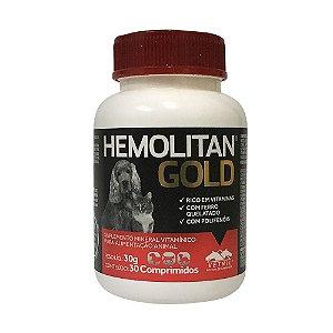Suplemento Vitamínico Hemolitan Gold 30cps - Vetnil