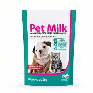 Pet Milk Sachet Substitutivo do Leite 300g - Vetnil