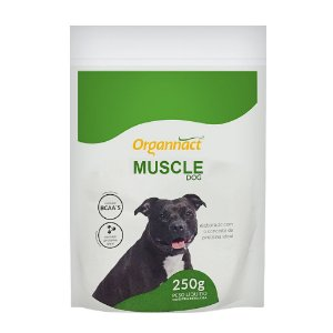 Suplemento Organnact Muscle Dog Massa Muscular - 250g