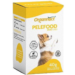 Suplemento Vitamínico Organnact Pelefood Dog tabs 40g