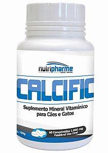 Suplemento Mineral Calcific 60cps - Nutripharme Cálcio