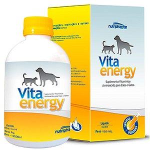 Suplemento Vitamínico Vita Energy 120ml - Nutripharme