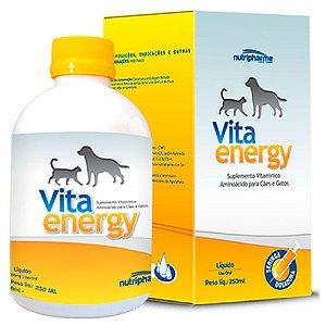 Suplemento Vitamínico Vita Energy 250ml - Nutripharme