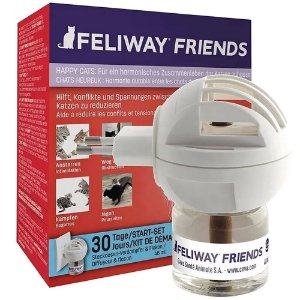 Feliway Friends Difusor com Refil 48ml cada - Ceva
