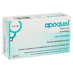 Tratamento Coceira Apoquel 5,4Mg 20cps - Zoetis