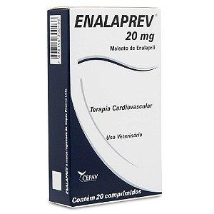 Enalaprev 20mg Vasodilatador 20 comprimidos - Cepav
