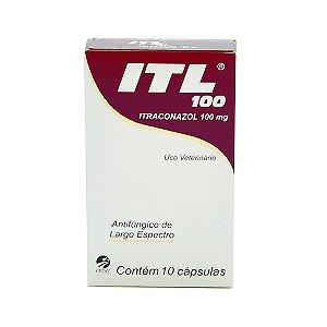ITL 100 Cepav 10 cápsulas