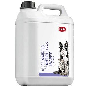 Shampoo Ibasa Antipulgas Antisséptico 5 Litros