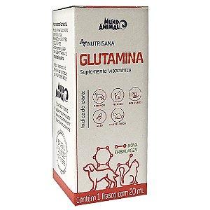Suplemento Vit. Nutrisana Glutamina 20ml - Mundo Animal