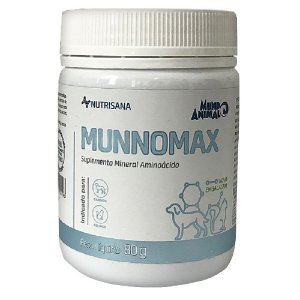 Suplemento Vitamínico Nutrisana Munnomax 80g - Mundo Animal