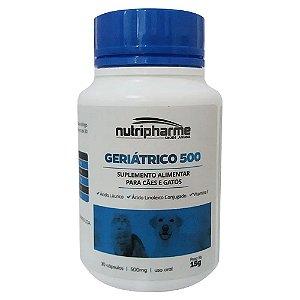 Suplemento Vitamínico Geriátrico 500 30caps Nutripharme