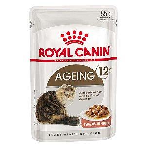 Ração Úmida Royal Canin Ageing 12+ Gatos Acima 12 Anos Wet 85g