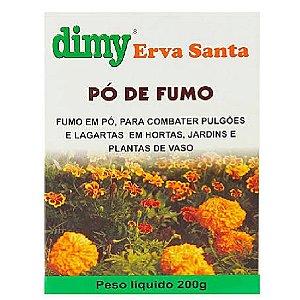 Inseticida Natural Dimy Erva Santa - Pó de Fumo 200g