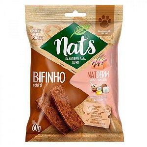 Snack Nats Bifinho Natural NatDerm 60g
