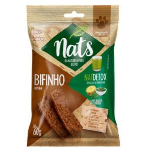 Snack Nats Bifinho Natural NatDetox 60g