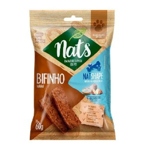 Snack Nats Bifinho Natural NatShape 60g