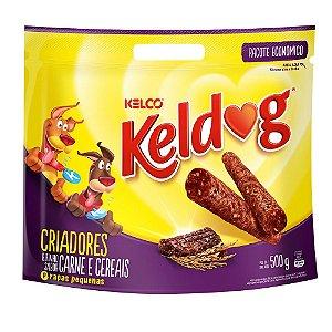 Bifinho Keldog Cães Carne E Cereais - 500g