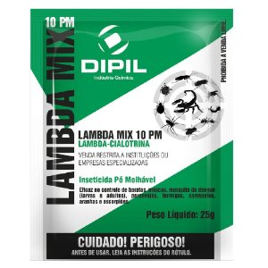 Inseticida Lambda Mix 10 PM Dipil 25g